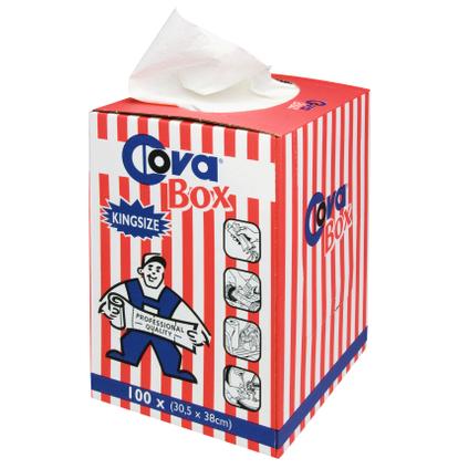 COVA box 100 chiffons 30,5x58cm