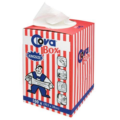 COVA box 100 doeken 30,5x58cm