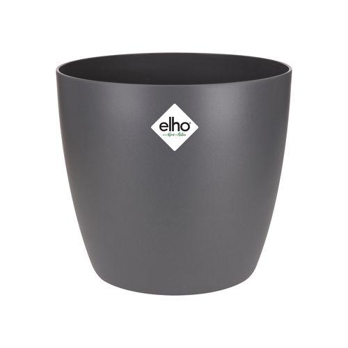 Elho pot 'Brussels Round' antraciet 14 cm