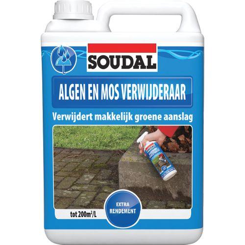 Éliminateur d'algues et mousses Soudal 5L
