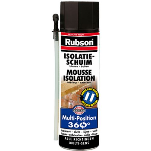 Mousse d'isolation Rubson 'Multi-Position' 500 ml
