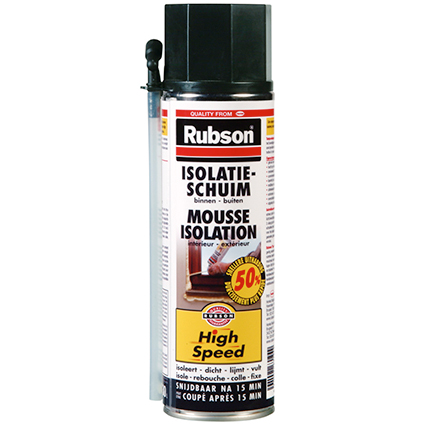 Rubson isolatieschuim 'High Speed' 500 ml