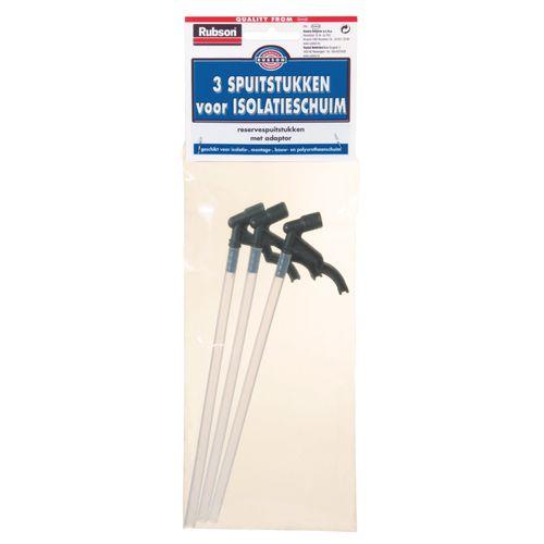 Rubson spuitstukken voor isolatieschuim - 3 stuks
