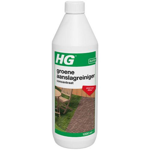 HG groene aanslagreiniger geconcentreerd 1L