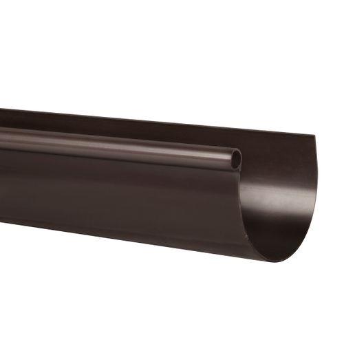 Martens dakgoot bruin G80 4 m