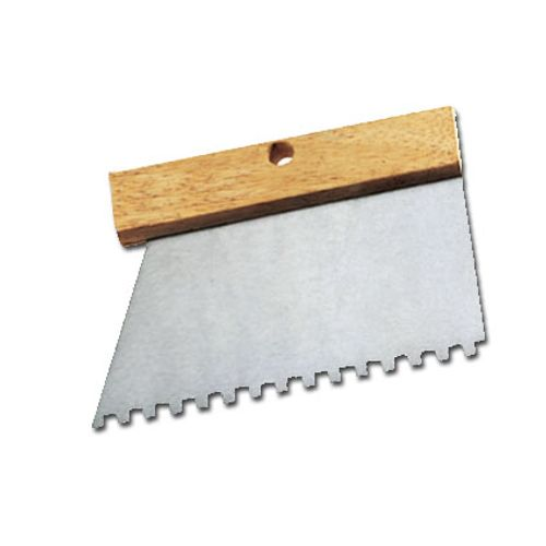 Couteau à colle Far Tools inox 18,5 cm dents 4 mm
