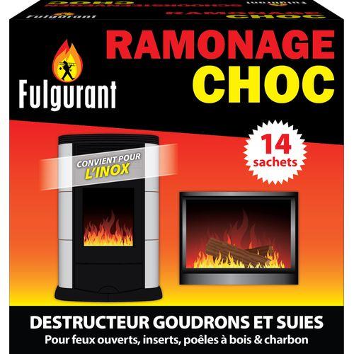 Produit de ramonage Fulgurant 'Choc' - 14 pcs