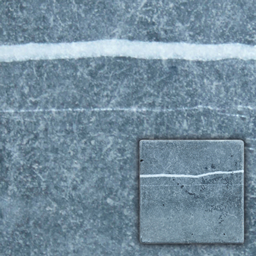 Wand- en vloertegel antiek marmer zwart 15x15cm