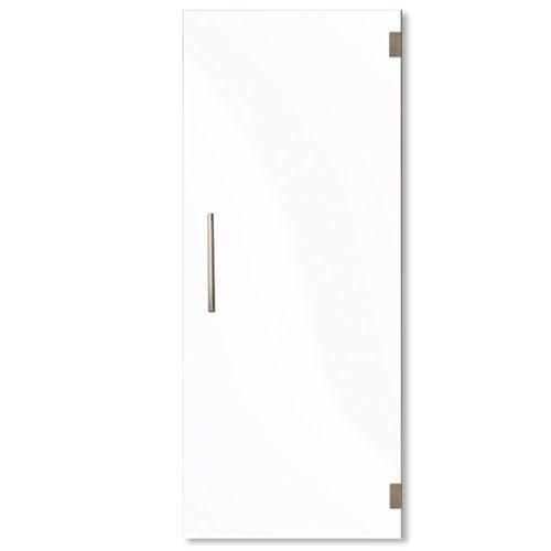 Porte en verre Thys mat 83cm