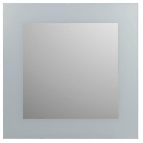 Plieger spiegel Art-Line met gezeefdrukt kader 60x60cm
