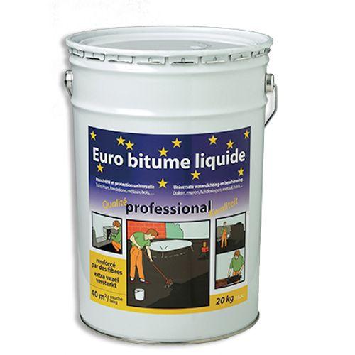 Produit d'étanchéité liquide Euro bitume 20 kg