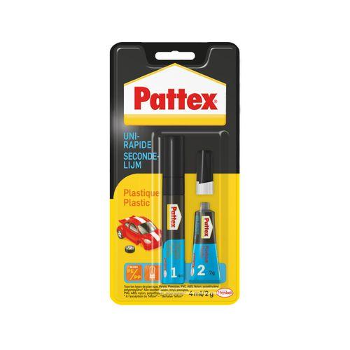 Pattex secondenlijm plastic 2g