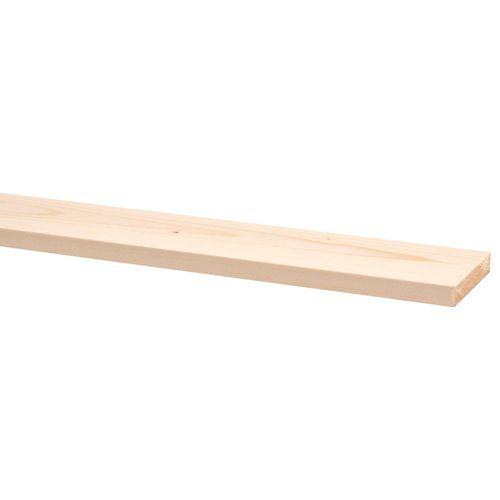 Geschaafd hout vuren 270 x 6,9 x 1,2 cm