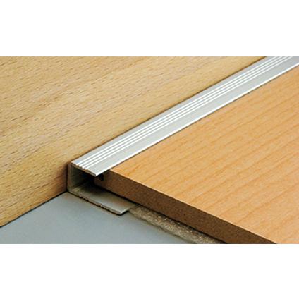 Arrêt de parquet Dinac aluminium naturel 3 cm