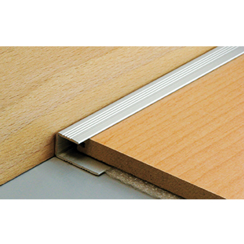 Dinac parketstop aluminium natuur 4 cm