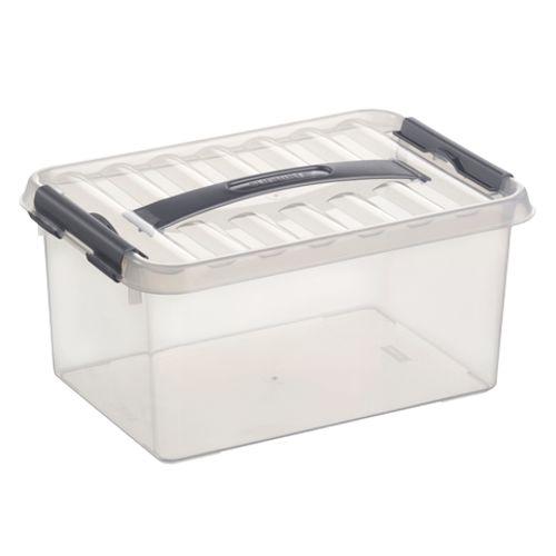 Boîte de rangement Sunware 'Q-line' 6L transparent