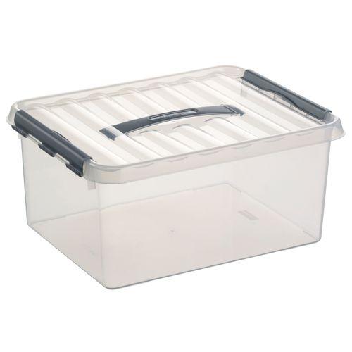 Boîte de rangement Sunware 'Q-line' 15L transparent