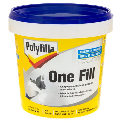 Enduit Polyfilla 'One-Fill' 1 L
