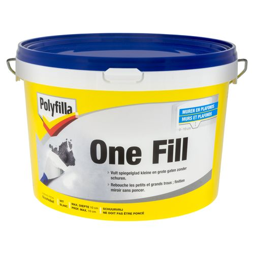 Enduit Polyfilla 'One-Fill' 2,5 L