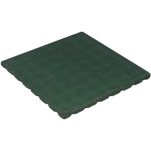 Decor rubberen tegel groen 50 x 50cm