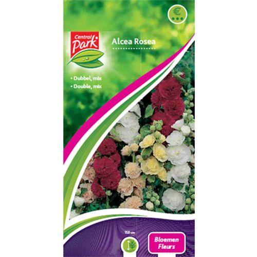 Sachet graines alcea rosea Central Park 'Fleurs'