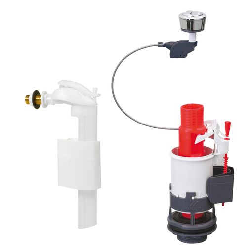 Wirquin spoelmechanisme toilet compleet MW90