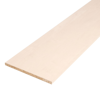 Sencys meubelpaneel witte berk 250x30cm