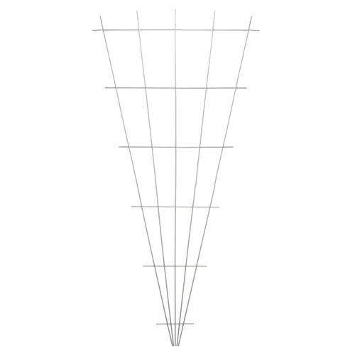Treillis Nature en forme de V 145x5/75cm avec set de fixation