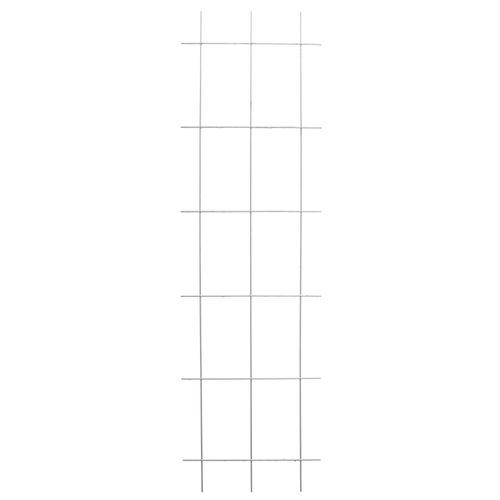 Treillis Nature galvanisé métal 145 x 42,5 cm