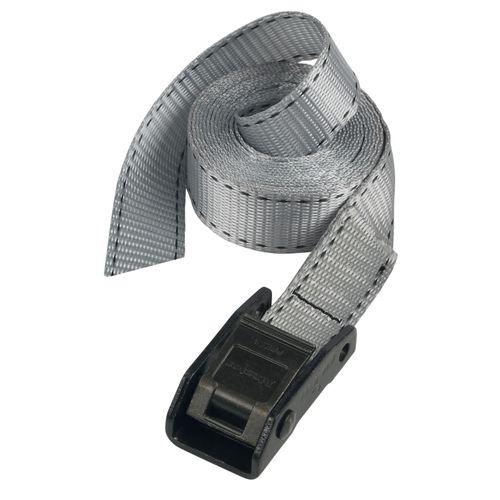 Sangle à bagage Master Lock gris 5 m x 25 mm