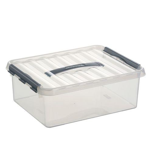 Boîte de rangement Sunware 'Q-line' 12L transparent