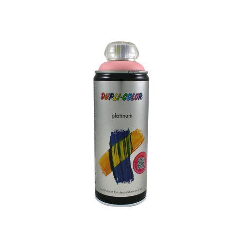Peinture en Spray Dupli-Color Platinum rose satiné 400 ml