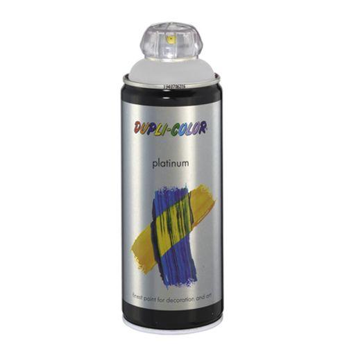 Laque Dupli-Color 'Platinum' gris satin 400ml