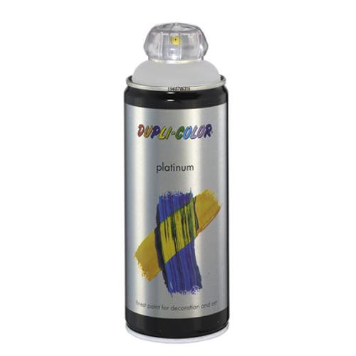 Dupli-Color lak 'Platinum' grijs satijn 400ml