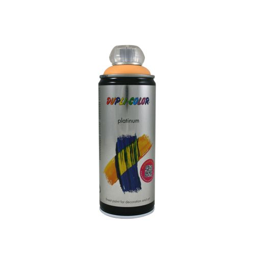 Peinture en Spray Dupli-Color Platinum papaye satiné 400 ml