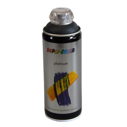 Peinture en Spray Dupli-Color Platinum gris anthracite satiné 400 ml