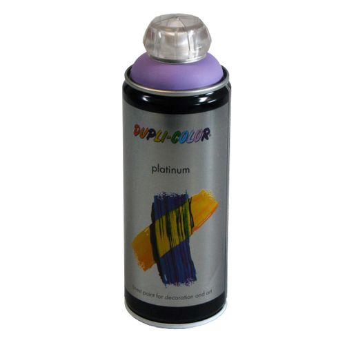 Peinture en spray Dupli-Color Platinum lavende satiné 400 ml