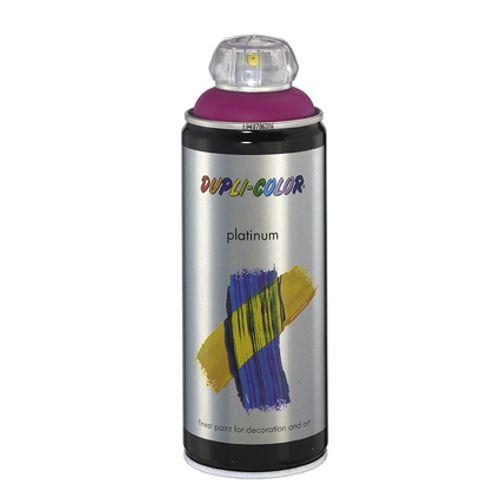 Laque Dupli-Color 'Platinum' pourpre signalisation brillant 400ml