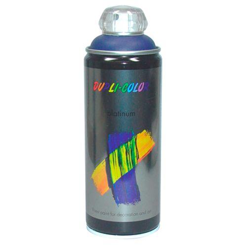 Laque Dupli-Color 'Platinum' bleu signalisation brillant 400ml