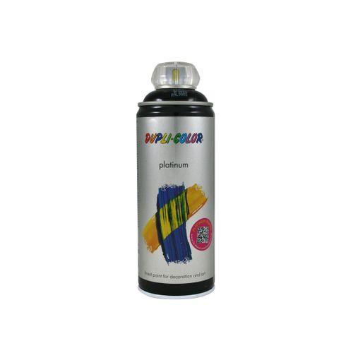 Peinture en Spray Dupli-Color Platinum noir foncé haute brillance 400 ml