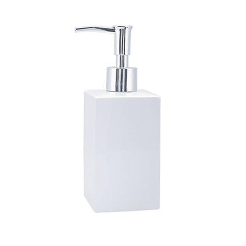 Distributeur de savon Spirella 'Quadro' blanc