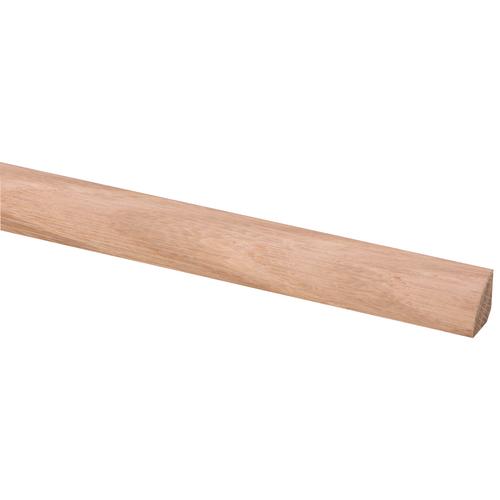 JéWé kwartrond 'KW18' in massief eikenhout 16x16mmx240cm