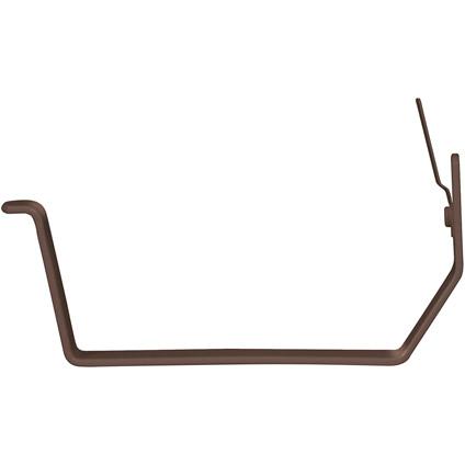 Martens beugel nr-2 bakgoot 125mm bruin