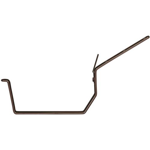 Martens beugel nr-3 bakgoot 125mm bruin