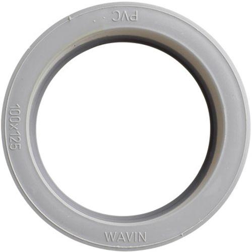 Martens verloop 100x125mm 1xlm grijs