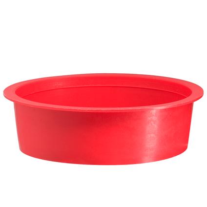 Martens speciedeksel 32mm rood