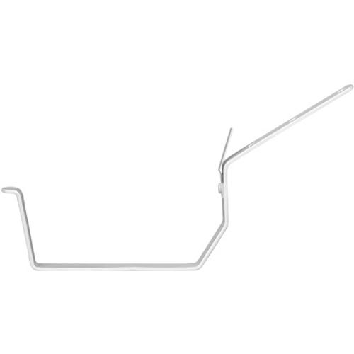 Martens beugel nr-3 bakgoot 125mm parelgrijs