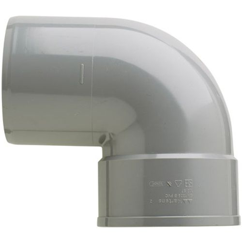 Martens PVC bocht 110mm 1xlm 87gr grijs