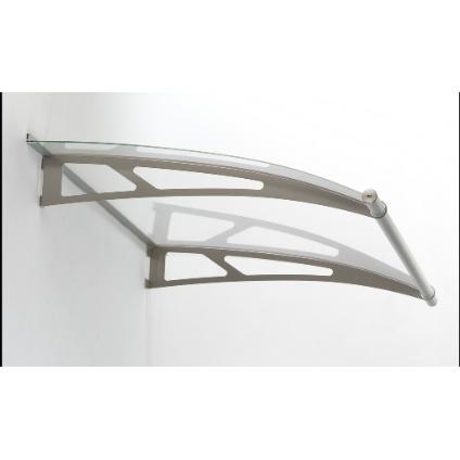 Auvent Polymer 'Lightline' 150 x 95 cm