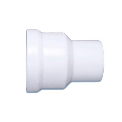 Raccord WC droit Saninstal Abufix 25cm Ø110mm blanc